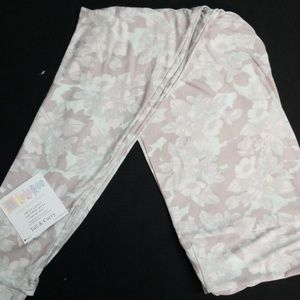 Neige & pale aqua Lularoe TC leggings NWT